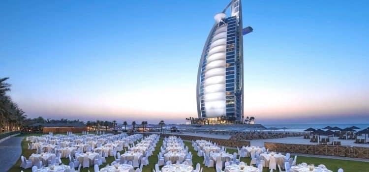 Jumeirah Beach Hotel für Incentives in Dubai